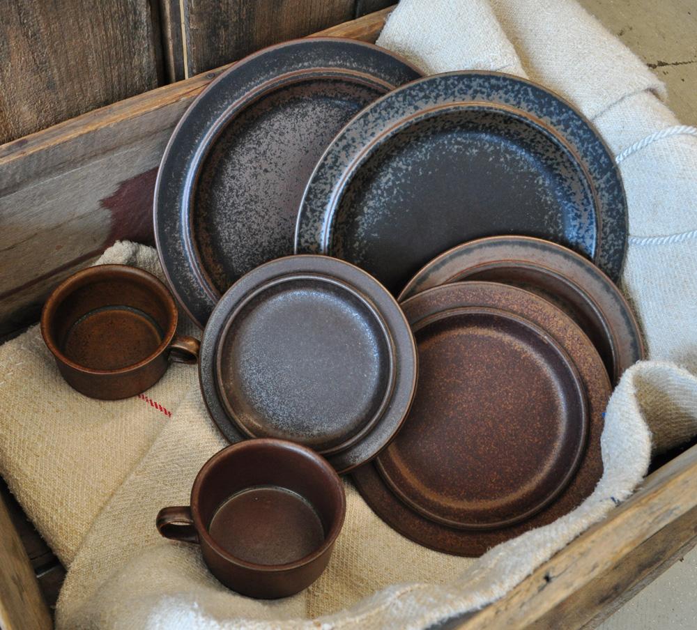 Arabia Ruska dinnerware & Arabia Ruska dinnerware - midcenturysanjose