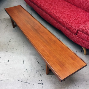 Bruksbo teak coffee table