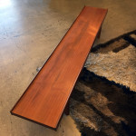 Bruskbo teak coffee table at midcenturysanjose.com
