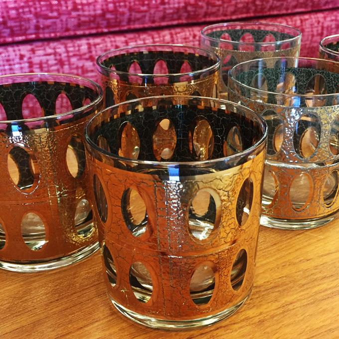 Culver Pisa rocks glasses at midcenturysanjose.com