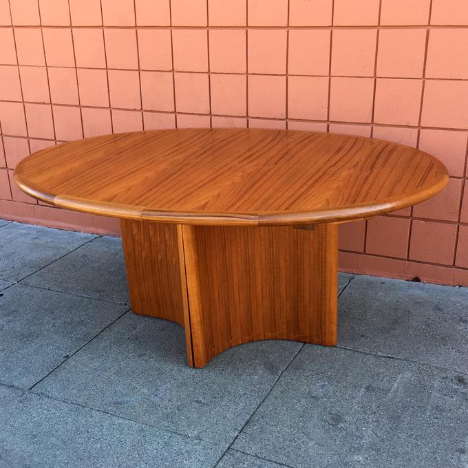 Skovmaad Andersen dinning table at midcenturysanjose.com