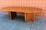 Skovmaad Andersen dining table extended with two leaves at midcenturysanjose.com