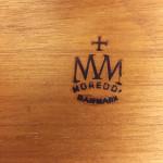 Grete Jalk table mark at midcenturysanjose