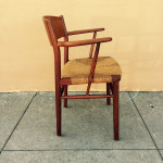 Borge Mogensen teak arm chair, midcenturysanjose.com
