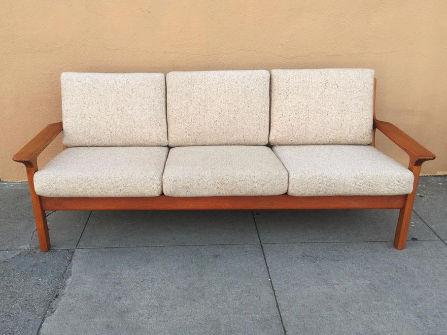 Copenhagen teak sofa midcenturysanjose.com