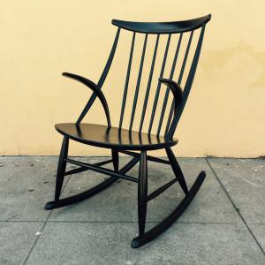Illum WIkkeslso rocker chair, midcenturysanjose.com