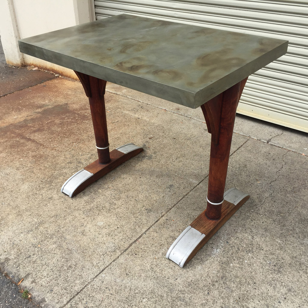 Vintage French Bistro Table Vintage French Bistro Table ...