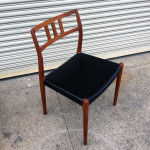 JL Moller chairs, model 76