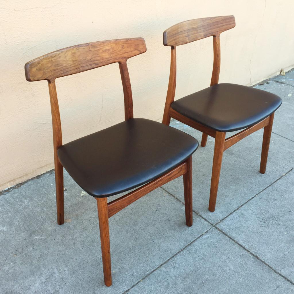 Bruno Hansen Rosewood Chairs