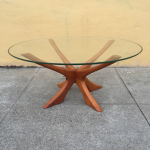 Illum Wikkelso teak coffee table