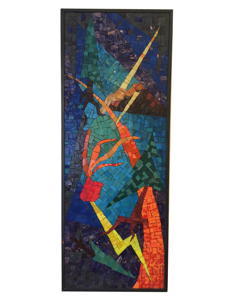 1960 Mosaic Tile Art