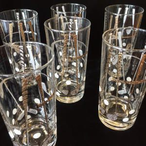 Georges Briard Golf Highball Glasses