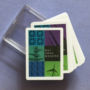 San Francisco Bay Area Modern Playing Cards