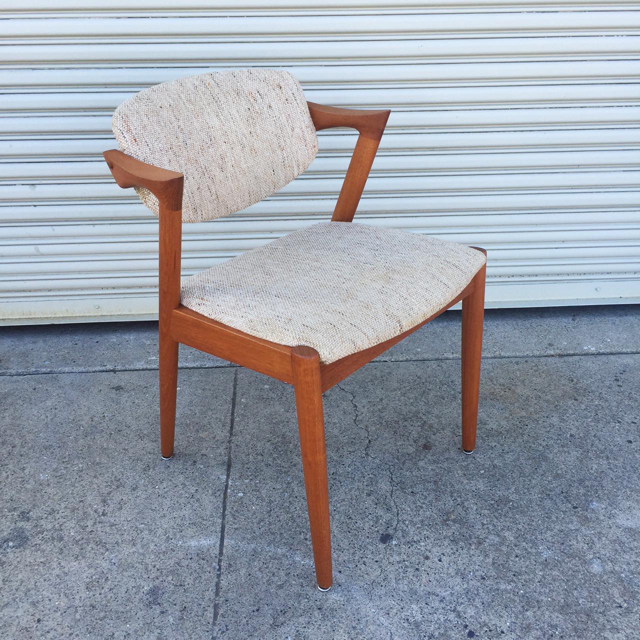 Kai Kristensen Model 42 Z Chair Sold Midcenturysanjose