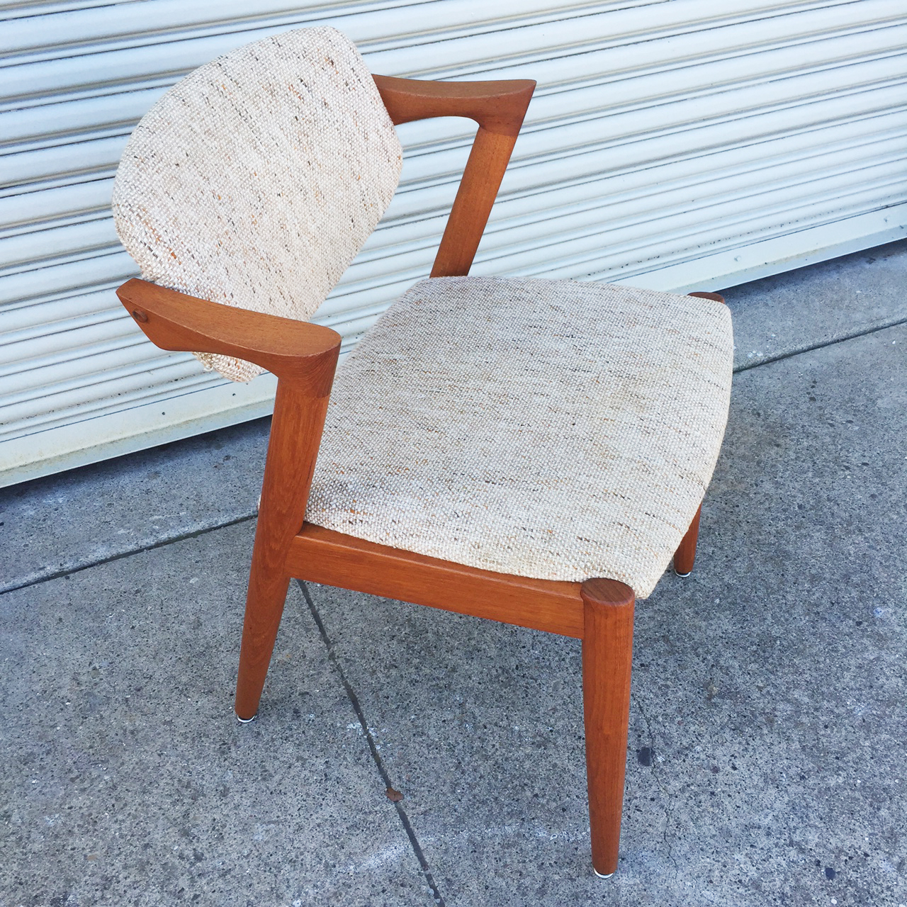 Kai kristensen model 42 z chair sold midcenturysanjose for Z chair mid century