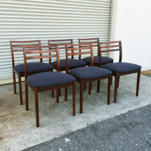 Johannes Andersen Rosewood Dining Chairs