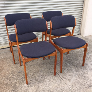 Erik Buch Dining Chairs