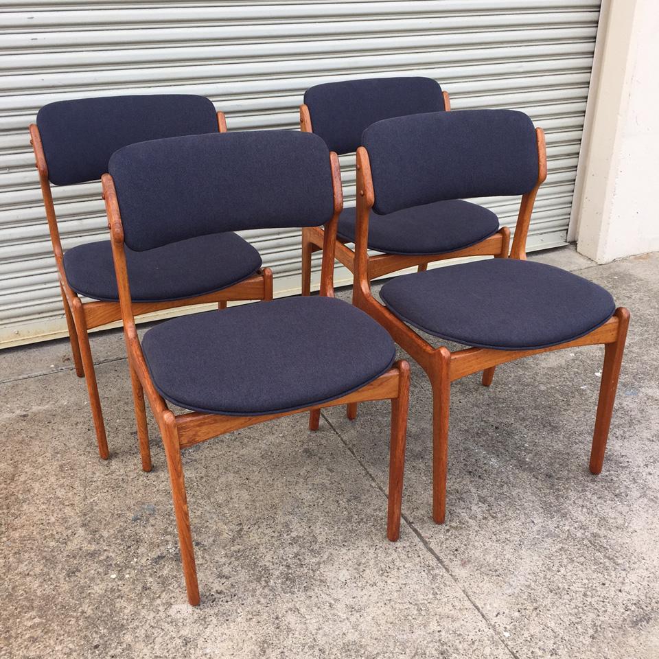 Erik Buch Dining Chairs