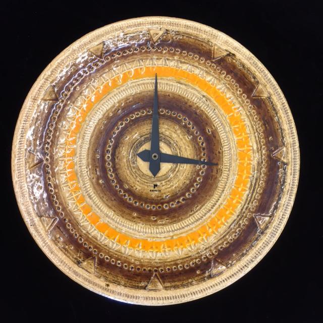 Bitossi Raymor Ceramic Clock