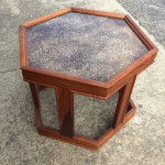Brown Saltman Hexagon Tables