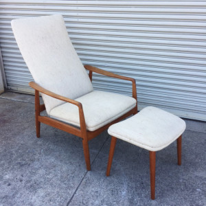 Søren Ladefoged Teak Lounge Chair