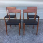 Svegards Markaryd Teak Chairs