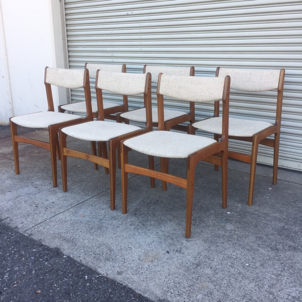 Anderstrup Teak Dining Chairs
