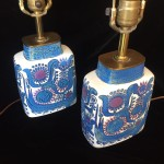 Royal Copenhagen Fajance Lamps