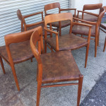 Moller 57 and 75 chairs