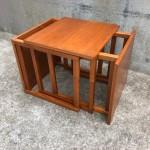 Kai Kristiansen Teak Cube Nesting Tables