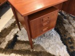 Teak Floating Top Desk