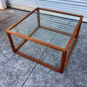 Kai Kristiansen Teak & Glass Coffee Table