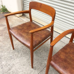 Pair of JL Moller Teak 56 Chairs