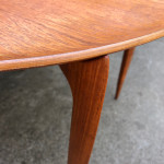Fritz Hansen Round Teak Table