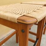 Korup Stolefabrik teak stools